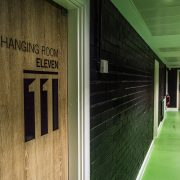 Brownlee Centre corridor to changing rooms