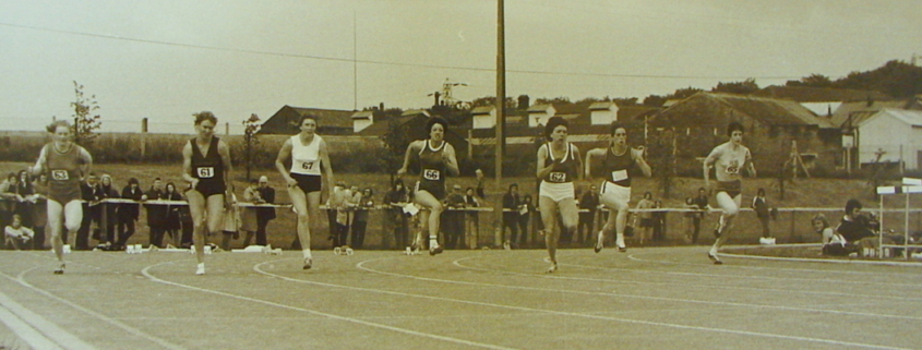 Cleckheaton Athletics, Women's 100m, 1974